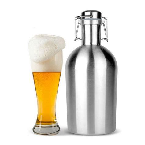 swing top growler beer growler 64oz swing top hip flask ultimate growler 1