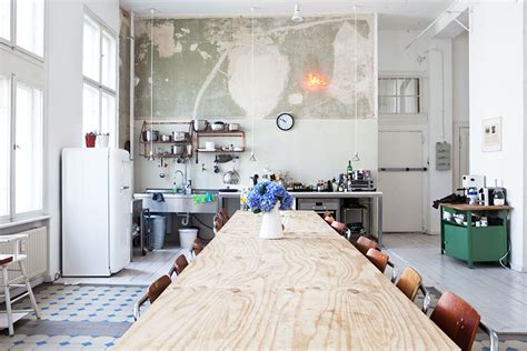 Berlin Appartment by Industrial Interiors Design Spell