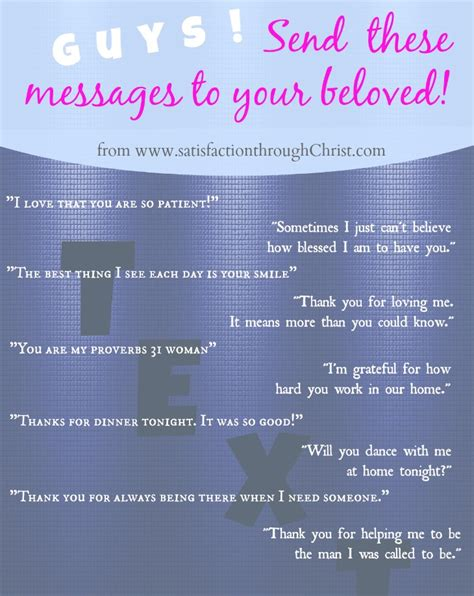 messages to husband 30 text messages for spouses satisfaction through