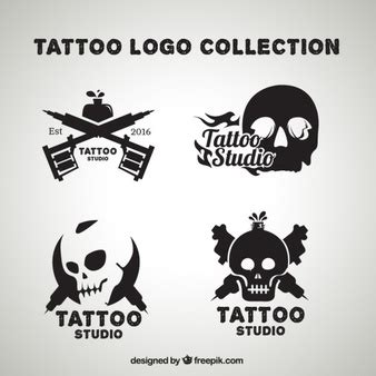 logo tattoo estudio logo tattoo fotos y vectores gratis