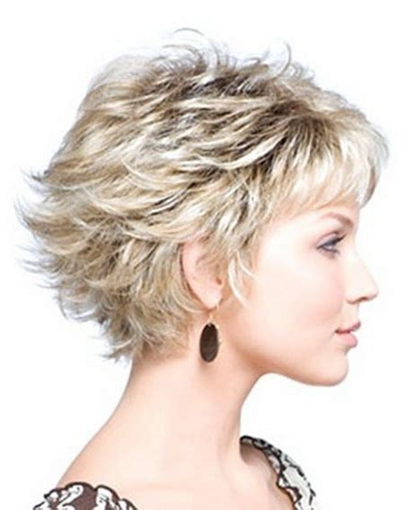 short choppy razoed hairstyles layered short haircuts 2016