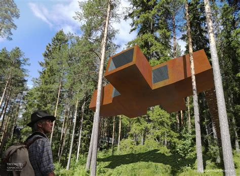 tree hotel sweden tree hotel swedish architecture e architect
