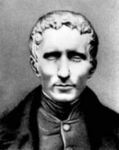 a picture book of louis braille louis braille timeline timetoast timelines