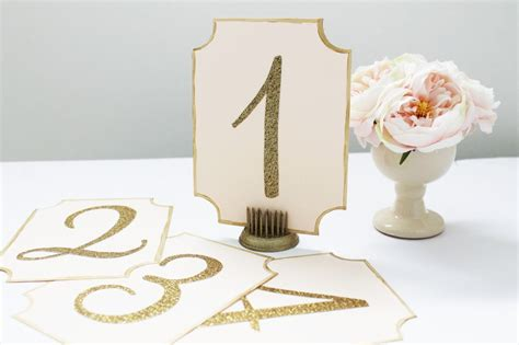 Diy Table Numbers by Diy Wedding Table Number Cards Lydia Pugs