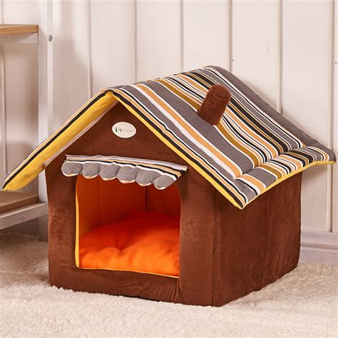 dog house bed cute house dog bed pet bed warm soft dogs kennel dog house