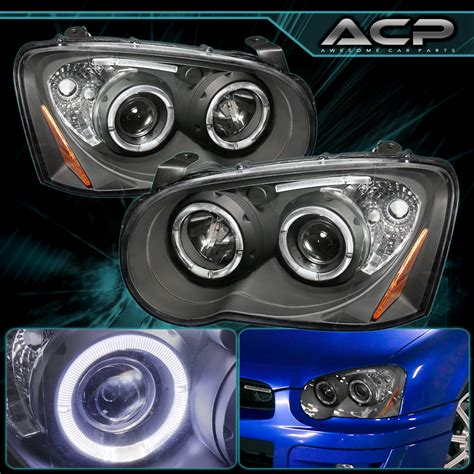 subaru headlight styles for 2004 2005 subaru impreza wrx sti rs led projector
