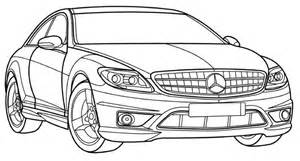 free coloring pages mercedes c63