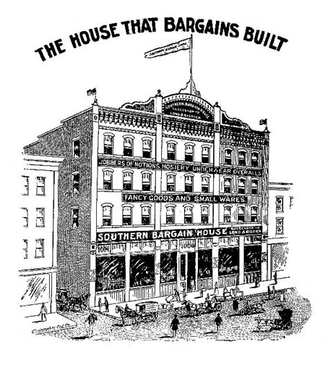 bargain house vintage clip art old department store bargain house the graphics fairy