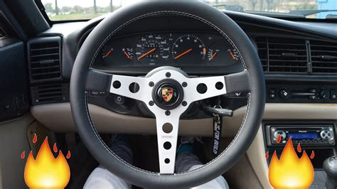 porsche steering wheel 1987 porsche 944 momo prototipo steering wheel install