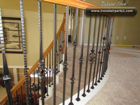 Metal Stair Spindles High Quality Powder Coated Iron Balusters