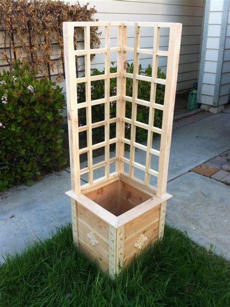 garden planter box for your herbs and vegetable garden