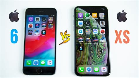 iphone xs vs iphone 6 speed test 4 years makes a big difference