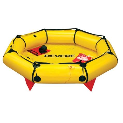 life rafts for small boats revere supply coastal compact 2 person life raft valise