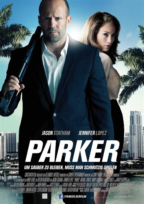 film jason statham parker complet parker movie poster 2 arrives with statham and lopez