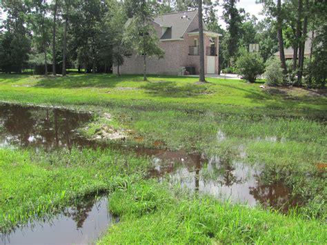 land drainage problems