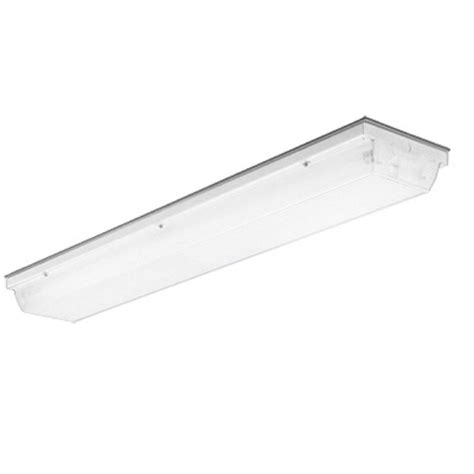 Lithonia Fluorescent Light Fixtures Lithonia Lighting Vsl Series 2 Light Unpainted With Beige Fluorescent Vandal Resistant Linear