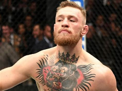 tattoo on pacquiao s chest ufc conor mcgregor says floyd mayweather is next fight
