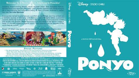 Ponyo Movie Blu Ray Custom Covers Ponyobrcltv1 Dvd
