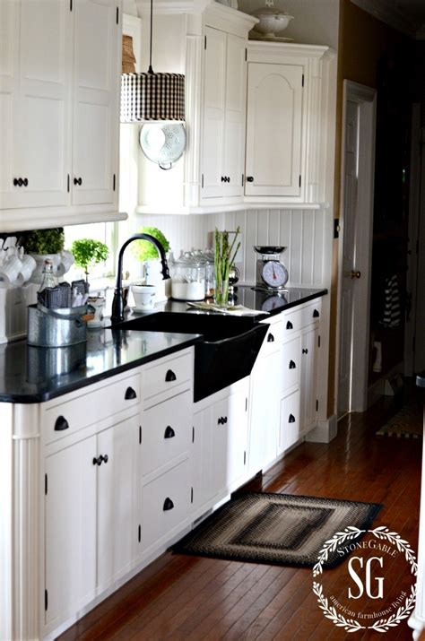 Farmhouse Cabinets For Kitchen how to know your decor style stonegable