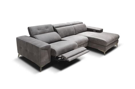 couch with usb port modular sofa with relax mechanisms and usb port idfdesign