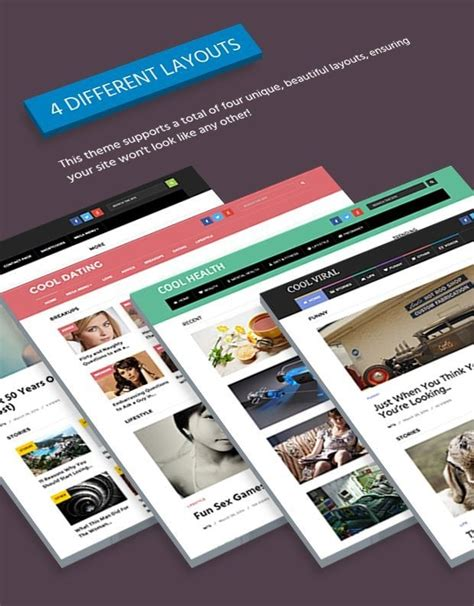 wordpress theme different page layout cool stunning modern wordpress blog theme mythemeshop