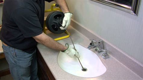 Best Product To Unclog Kitchen Sink How To Unclog A Drain Using A Cobra 20 Series Power Machine