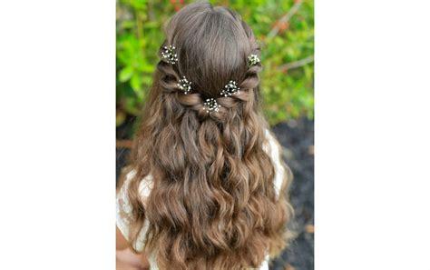 simply stunning  communion hairstyles  girls
