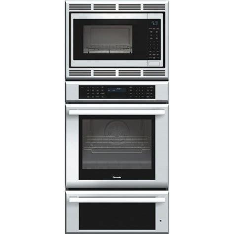 thermador warming drawer thermador 27 inch masterpiece 174 triple oven oven
