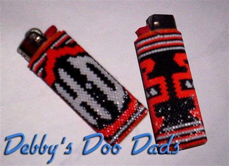 how to make beaded lighter covers beaded lighter by debby in clearwater other pattern