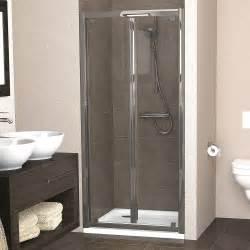 Showerlux Legacy Bi Fold Shower Door 1000mm Bi Fold Shower Doors 1000mm
