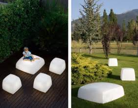 Patio Furniture Lighting Outdoor Floor Lighting From Carpyen Lite Cube And Lite Box Lights Are Also Seats Modern Outdoors