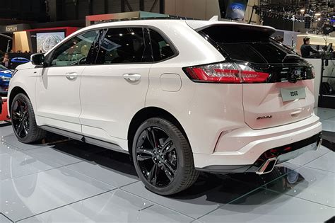ford edge updated suv arrives  geneva   car