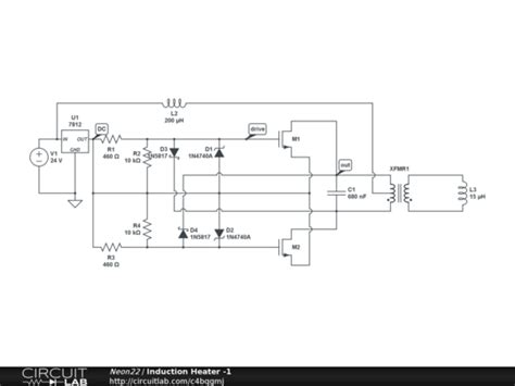 induction heater design pdf induction heater 1 circuitlab