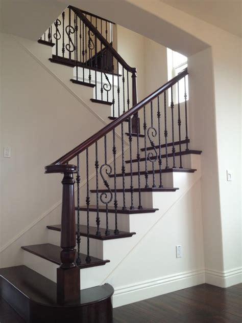 houzz home iron design railing stairs joy studio design