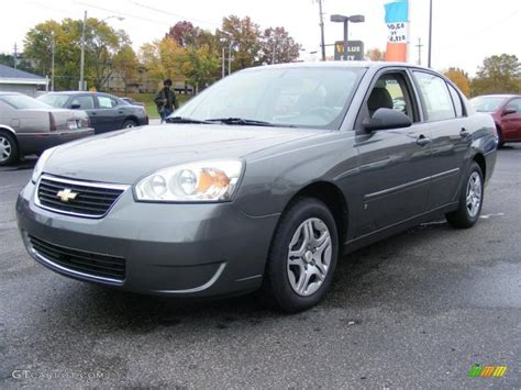Gray Ls by 2006 Medium Gray Metallic Chevrolet Malibu Ls Sedan