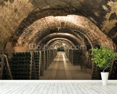 Wine Wall Murals wine cellar wallpaper wall mural wallsauce usa