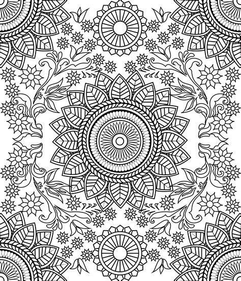 Muster Mandala Vorlagen ganzseitiges mandala muster a4