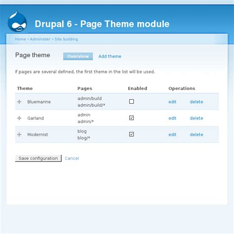 drupal theme alter how to change the theme for a particular admin page in
