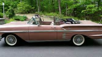 1958 chevy impala ss for sale 1958 chevy impala 2 door sport convertible for sale