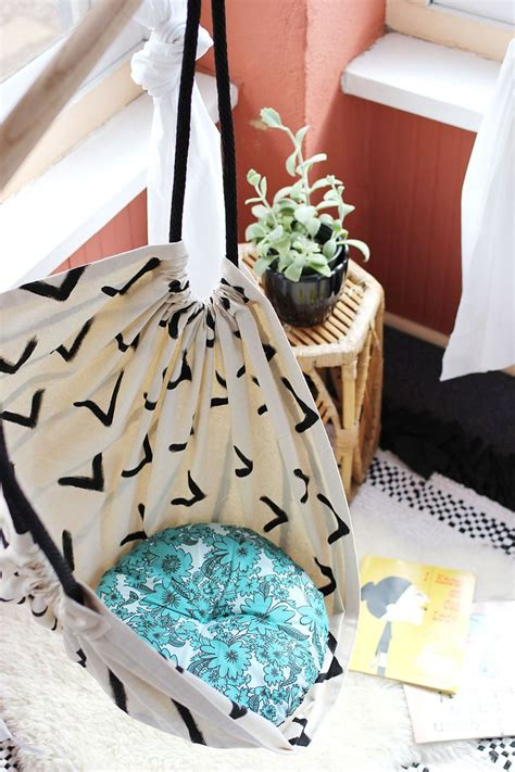 How To Make Your Own Hammock Chair by Hammock Chair Diy A Beautiful Mess
