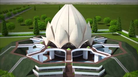 architecture lotus temple project youtube