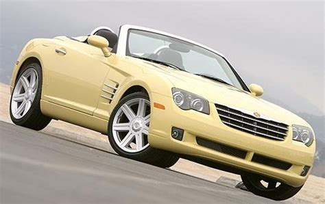 how cars run 2006 chrysler crossfire roadster security system used 2007 chrysler crossfire for sale pricing features edmunds