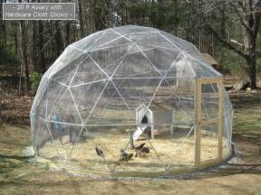 Backyard Goat Farming Sale 16 Ft Geodesic Dome Outdoor Aviary Flight Cage Animal