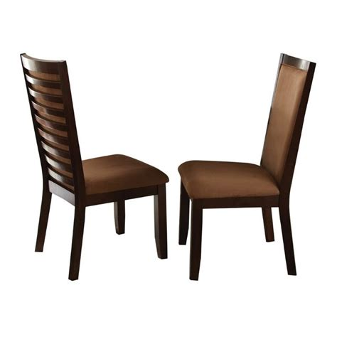 The Dining Chair Company Steve Silver Company Cornell Upholstered Dining Chair In Espresso Cn500s