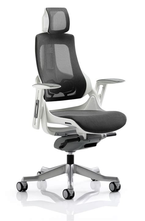 desk chair with headrest ergonomic high back mesh swivel office chair malaysia high