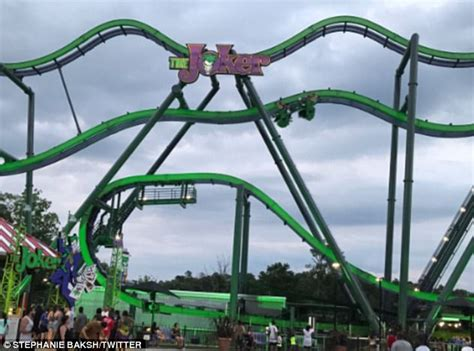 theme park accidents 2017 teenage worker dies at new jersey theme park daily mail
