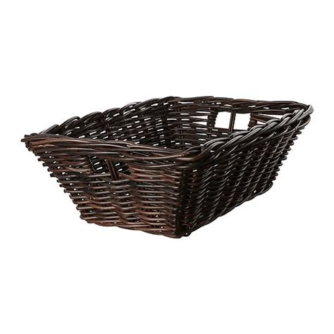 ikea baskets byholma basket brown 14 188 x20x6 190 quot ikea
