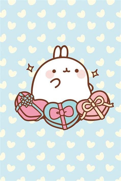 Molang Mochi Iphone All Hp Molang Wallpapers Free For Iphone And Galaxy From