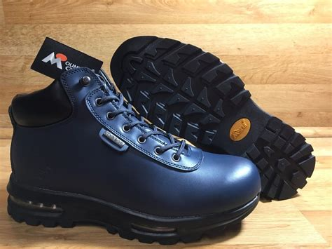 mountain gear boots for mountain gear boot navy leather ebay