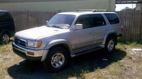 1998 Toyota 4runner For Sale 1998 Toyota 4runner For Sale Carsforsale